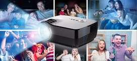 GP70 Projector, GP70 Mini Portable Video LED Projector 1080P for Outdo