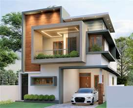 4.100 CENT WITH 2140 SQFT BRAND NEW VILLA FOR SALE AT THRIPUNITHURA