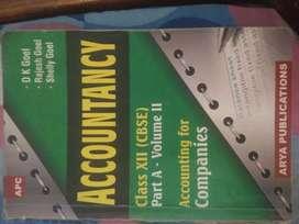 ACCOUNTS AND ECONOMICS BOOKS FOR CLASS 12 CBSE BOARD