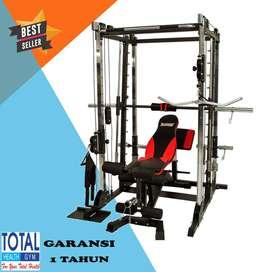 FREE ONGKIR Home Use Power Rack Total Fitness