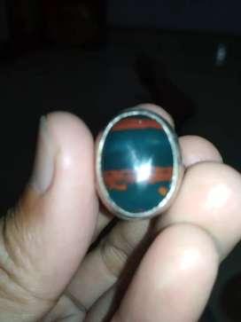 Batu Klawing ring perak