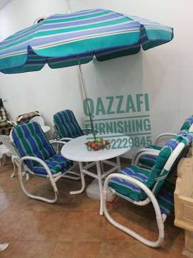Outdoor Chairs made In UPVC all weather material