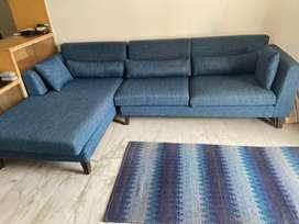 L Shaped Sofa Set from Urban Ladder