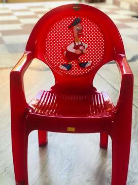 Cello Kids Plastic Chair (Red)