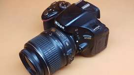 D5100 with lens
