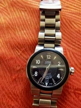 Jam tangan pria merek ORIS Automatic asli Swiss