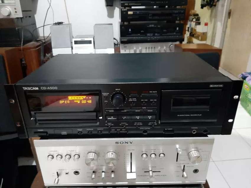 TASCAM CD A500  Cd n kaset player 0