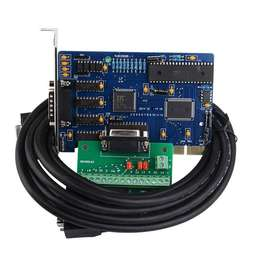 3 Axis NC Studio PCI motion ncStudio Control Card set for CNC router