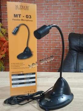 MN Microphone mic meja m-tech MT-03