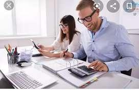 Assistant Accountant vacancies job in LTD companies B com fresher'