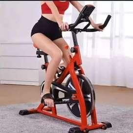 Asli baru spining bike harga promo