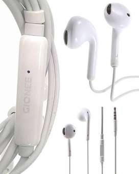 100% Original Gionee Handsfree Full Bass with best Wire and Mic Qualit