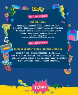 Tiket Konser Hanson The 90's Festival