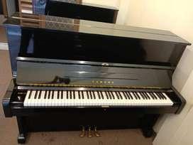 Piano Yamaha U1 Nippon Gakki Hitam Peter Piano Bintaro