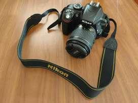 Kamera DSLR Nikon D3300 mulus, fullset, no minus