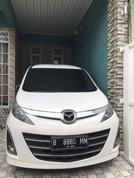 Mazda Biante Non Skyactive 2013 Putih Good Condition
