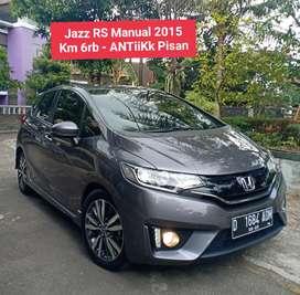Km low 6rb ANTiK Jazz RS Manual 2015 istw skli Bandung Murah 2014 2016