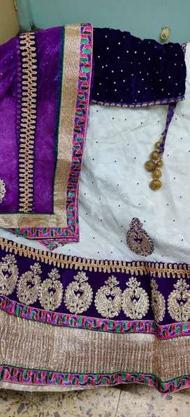 Once worn full lehenga set