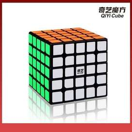 Rubik 5x5 Qiyi Qizheng Black Base 5x5 Speed Cube