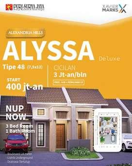 Perumahan GRAND ALEXANDRIA HILLS - ALYSSA DELUXE (Puri Surya Jaya)