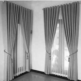 Gorden gordyn hordeng series-2437 desain kemewahan rumah