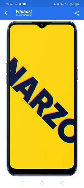 Realme narzo 10a 4+64GB(sealed pack with bill)