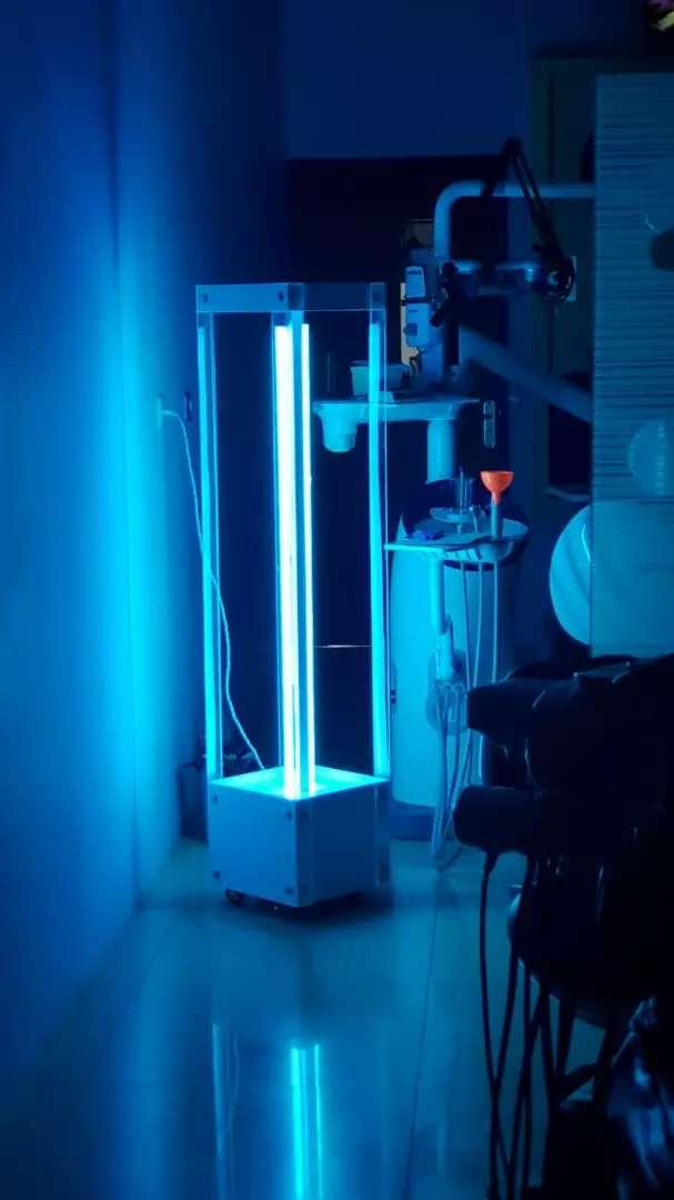 Lampu UV c 256 nm.  MERK Uv-Tron 0