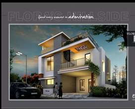 Duplex villa luxury project at Madhurawada