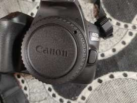 Canon 200d mark ii DSLR in new condition