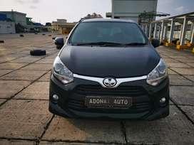 Toyota agya G Manual MT 2018 hitam murah Tdp 13jt