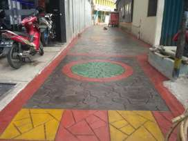 Pattern concrete,Pagar panel precast