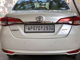 Brand new Toyota Yaris single hand maintained and very less used