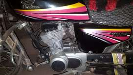 Honda 125 cc for sale in good condition