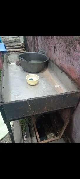 Peralatan bekas kedai nasi goreng