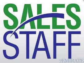 Sales Staff Required Male And Female