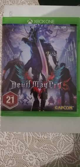 Xbox one games. Watch dogs 2 and devil may cry 5.