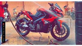 Pulsar Rs 200 less use top condition