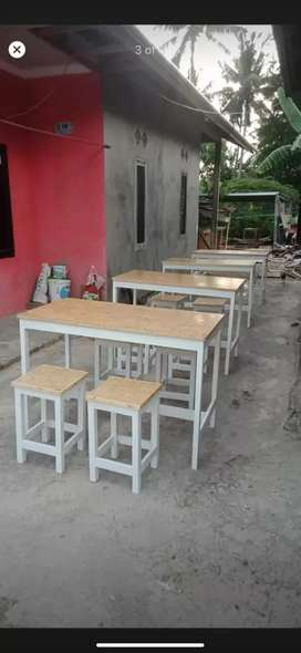 meja dan kursi industrial