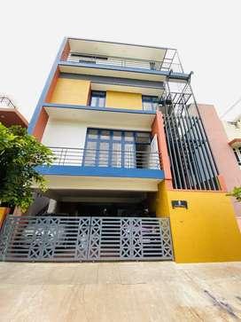 House for lease at somanath nagar Dattaglli
