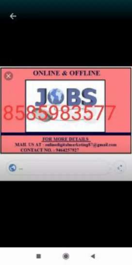 Real online jobs data typing at home