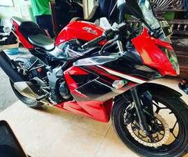 Ninja 250fi sl th 2014 cash/kredit dp ringan rjm