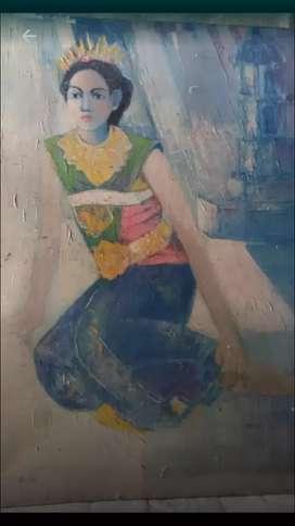 Lukisan Penari Cantik Karya Dirot Khodirah