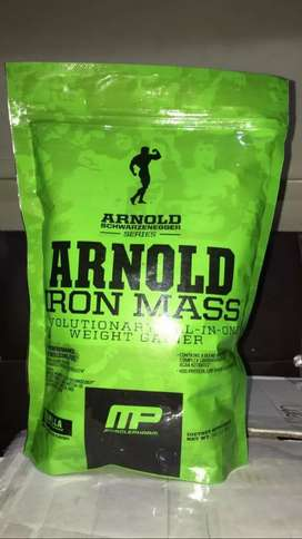 Arnold )serious mass (whey protein)2lbs 1kg