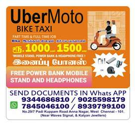 UBER MOTO BIKE TAXI JOINING OFFICE