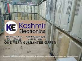 Kashmir Electronics..One year Guarantee Offer..