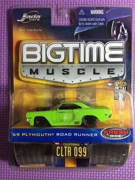 Plymouth Road Runner '69 Jada Bigtime Muscle skala 64