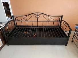 Sofa cum bed with storage hard strong metal cheap price