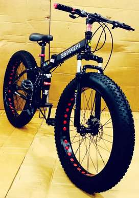 Ferrari fat tyre foldable cycle with shimano 21 gears