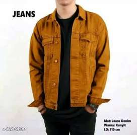 Jaket jeans pria model terbaru
