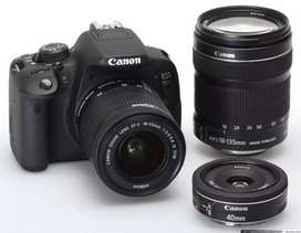 Dslr For Rent 700D Canon
